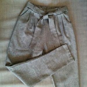 Paper bag pants size S (fit a size 0-2)